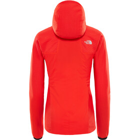 The North Face W's Summit L3 Ventrix Hybrid Hoodie Fiery Red/Fiery Red